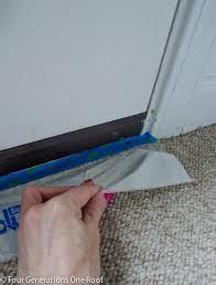 How To Paint An Interior Door How To Paint A Door Interior Door Makeover Four Generations