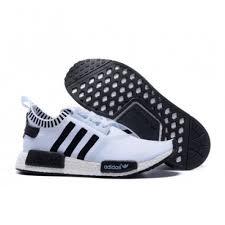 on line shop for adidas nmd runner white black