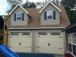 Prefab Garages With Apartments by Modular Garage 8 Pitch Modular Garage 20 X 20 20x20 2car 1 Story