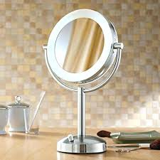 magnification mirror with light travel magnifying mirror with light best lighted travel magnifying