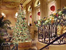the 12 best hotel christmas trees photos condé nast traveler