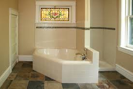 Slate Tile Bathroom Shower Explore St Louis Kitchen Cabinets Tile Installation Customer