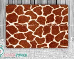 giraffe pattern notebook laptop skin biology medicine notebook vinyl decal dell hp
