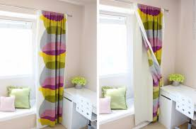 White Blackout Curtains For Nursery by Graceful Image Of Achievements Modern Sheer Curtains Magnificent