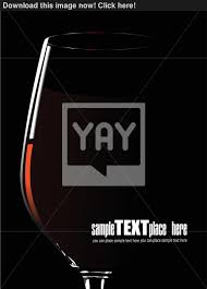wine vector glass of red wine vector illustration on white background vector