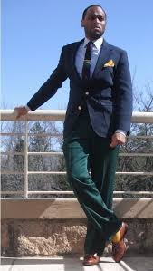 men u0027s navy blazer blue dress shirt green dress pants brown