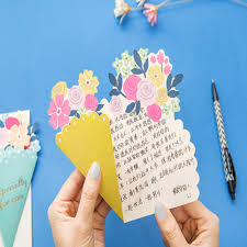 wedding gift greetings 3pcs diy flower greeting card wedding gift greetings christmas