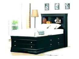 twin captains bed with bookcase headboard twin storage bed with bookcase headboard liftechexpo info