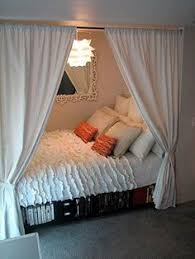 Dividing A Bedroom With Curtains Divide And Conquer 6 Ways To Separate A Room Room Bedrooms And