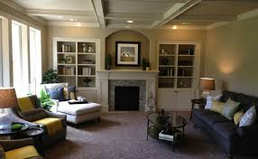 living room craftsman home interiors awesome cozy craftsman