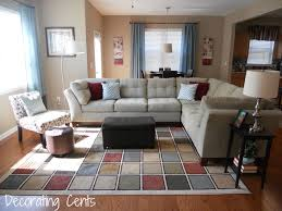 alluring modern family rooms decorating ideas with white sectional
