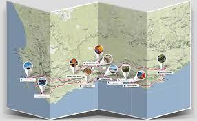 Rock Tunnel Leaf Green Map 5 Tägige Garden Route Tour Bokbus Tours