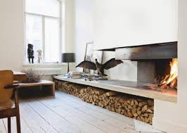 minimalist fireplace cozy modern 10 minimalist fireplaces apartment therapy