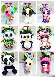 cheap 35 design ty beanie boos plush stuffed toys 15cm