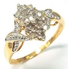 v shaped diamond ring ebay 10k gold ring ebay