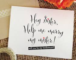 bridesmaid asking cards personalized will you be my bridesmaid card asking bridesmaid