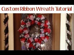 ribbon wreaths ribbon wreath tutorial