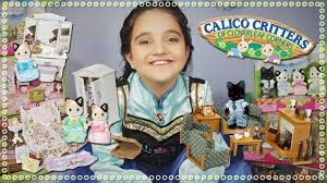 Calico Critters Living Room by Calico Critters Families And Bedroom U0026 Living Room Set Unboxing