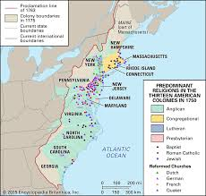 World Religions Map Religion Map Of The 13 American Colonies In 1750 1600x1524 Mapporn