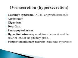 Cortical Blindness May Result From The Destruction Of Endocrine Disorders Ppt