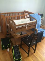 Repurpose Changing Table by Turn A Changing Table Into A Desk Thrift Diving Blog
