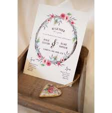 botanical wedding stationery floral designs for every type of