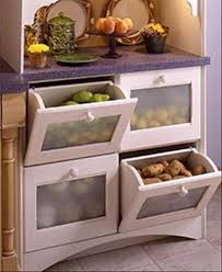 storage kitchen ideas tilt out vegetable bins awesome small kitchen appliance storage