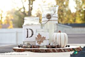 rustic center pieces rustic fall centerpiece tutorial of family home