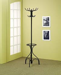 amazon com coaster home furnishings 900821 coat rack with