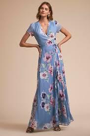 multi and floral print bridesmaid dresses bhldn