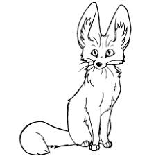 25 free printable fox coloring pages