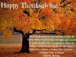 thanksgiving let us all be grateful becoming the journey