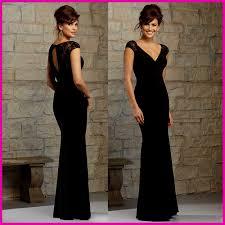 long black lace bridesmaid dress naf dresses