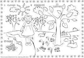 spring coloring pages nature printable kids gekimoe u2022 28133