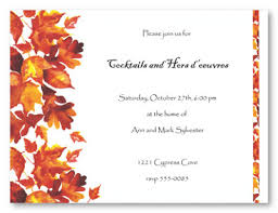 thanksgiving invitation cards everything so beautiful