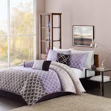 California King Comforters Sets Madison Classics Bailey 7 Piece Cal King Comforter Set In Purple