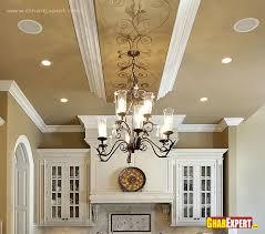 Latest Design For Kitchen Chandelier And False Ceiling D Kitchen Pinterest False