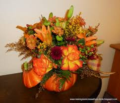 Easy Thanksgiving Table Decorations Decorations Fall Color Accent Table Centerpiece Come With Fresh