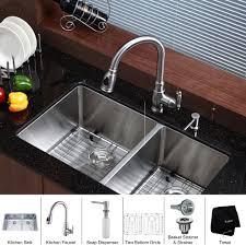 Undermount Stainless Steel Kitchen Sink by Stainless Steel Kitchen Sink Combination Kraususa Com