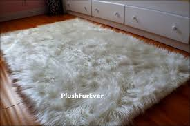Sheepskin Area Rugs Sale Interiors Magnificent Black Faux Fur Area Rug Black Faux Rug