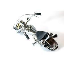 harley davidson motorcycle model metal sculpture die cast