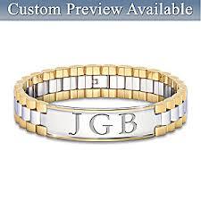 initials bracelet mens bracelet always my personalized mens bracelet