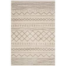 ivory rugs safavieh arizona shag ivory beige 9 ft x 12 ft area rug asg741a