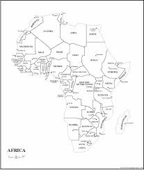 map of africa with country names maps of africa africa maps atlases mega