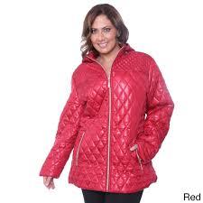 white mark women s plus size puffer coat ebay
