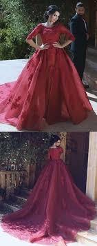 wedding dress maroon pink prom dress prom dress formal prom dress moddress