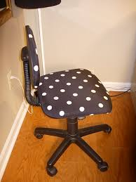Office Chair Slipcover Pattern Diy Office Chair Makeover With Fabric In My Own Style