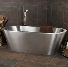 bathroom stunning round shape of stand alone bathtubs with wooden