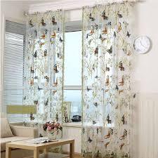 how to put sheer window treatments