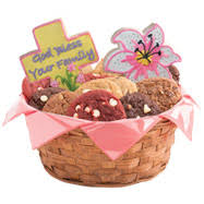 cookie baskets l gift basket delivery cookies by design